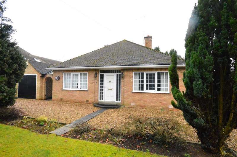 2 Bedrooms Detached Bungalow for rent in Leicester Road, Narborough, Leicester, LE19 2DG