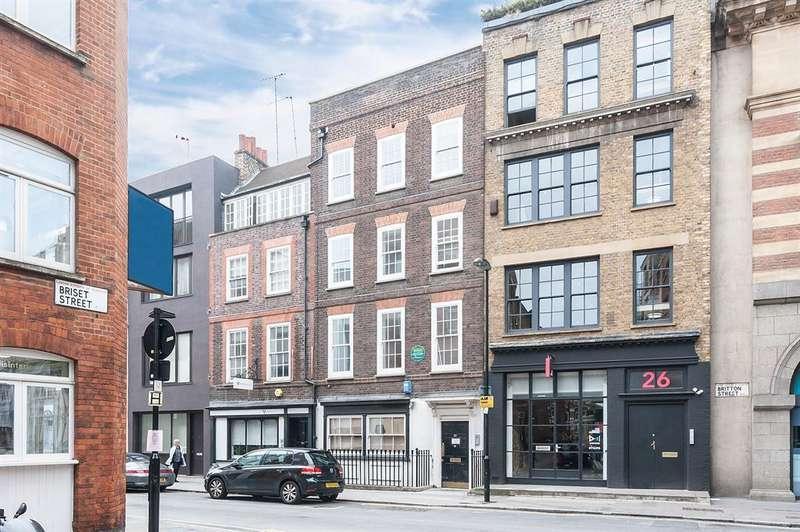 1 Bedroom Apartment Flat for rent in Britton Street, London, EC1M