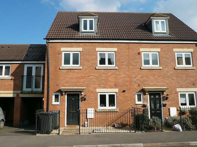 4 Bedrooms Terraced House for sale in Swaledale Road, WARMINSTER, BA12