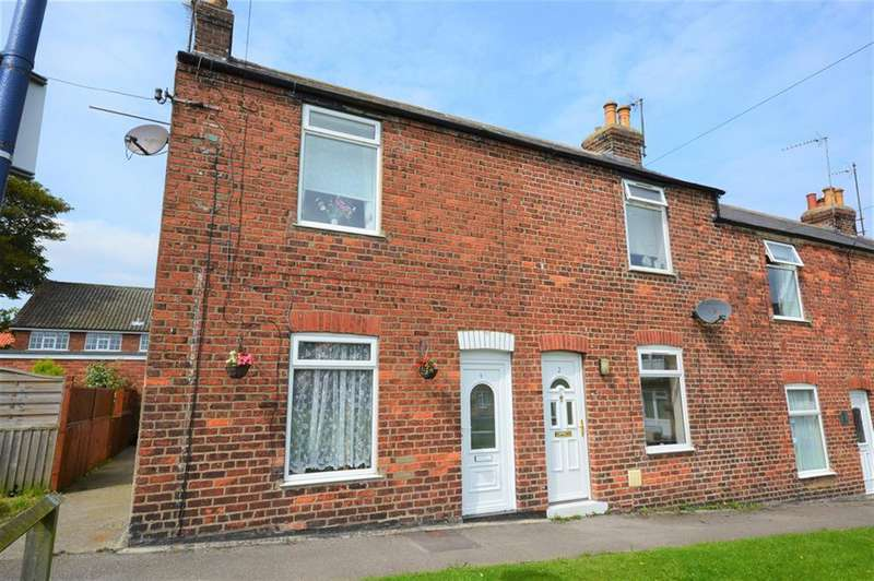 2 Bedrooms End Of Terrace House for sale in Ebenezer Terrace, Filey, YO14 9EZ