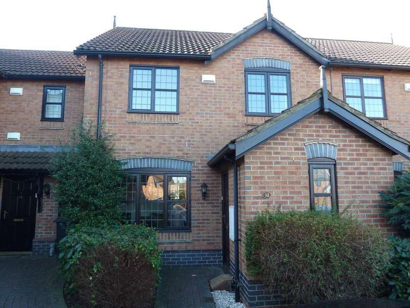 3 Bedrooms Terraced House for sale in Michael Foale Lane, Louth, LN11 0GT
