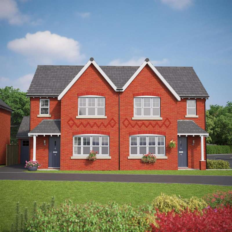 3 Bedrooms Semi Detached House for sale in The Banbury, Bryn Y Mor, Old Colwyn, LL29 8UU