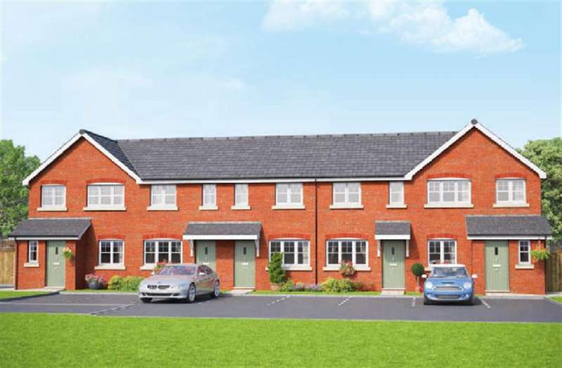 3 Bedrooms Town House for sale in The Highfield, Erddig Place, Wrexham, LL11