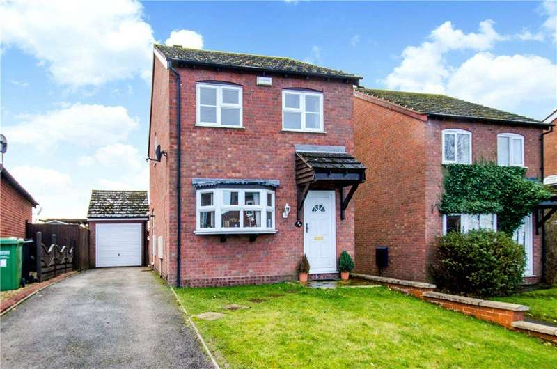 3 Bedrooms Detached House for sale in Wharfedale Crescent, Droitwich, Worcestershire, WR9