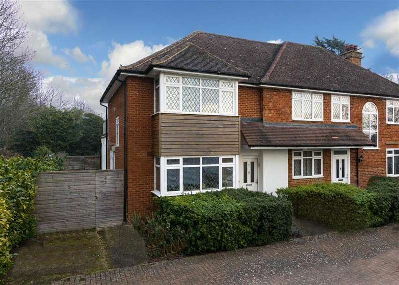 4 Bedrooms Semi Detached House for sale in Redhall End, St Albans, Hertfordshire