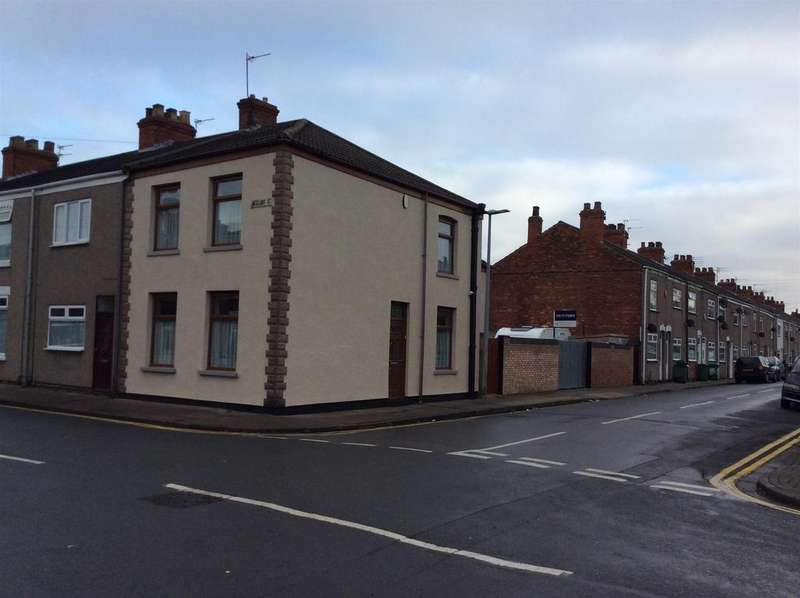 3 Bedrooms End Of Terrace House for sale in Weelsby Street, Grimsby, DN32 8AB