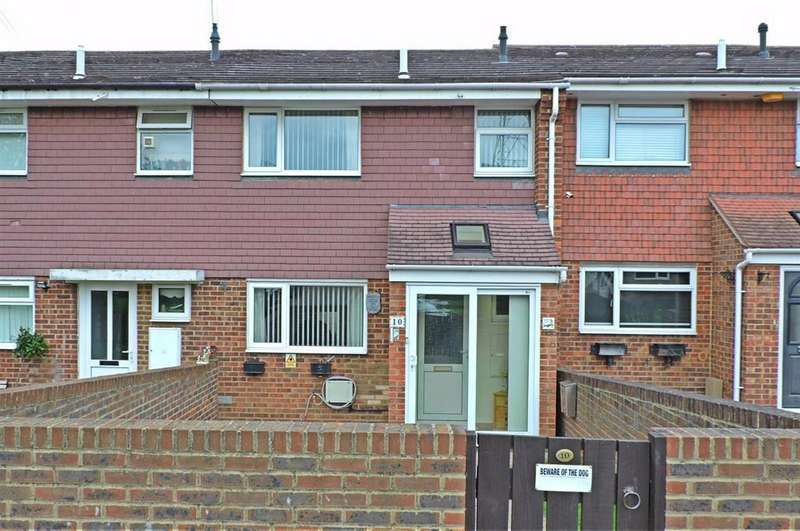 3 Bedrooms Terraced House for sale in Turnbull Close, Greenhithe, DA9 9EB
