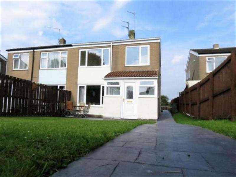 3 Bedrooms Semi Detached House for sale in Coopers Close, Thornley, Durham, DH6 3BB