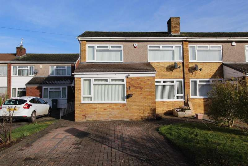4 Bedrooms Semi Detached House for sale in Rookery Way, Whitchurch, BS14 0DX