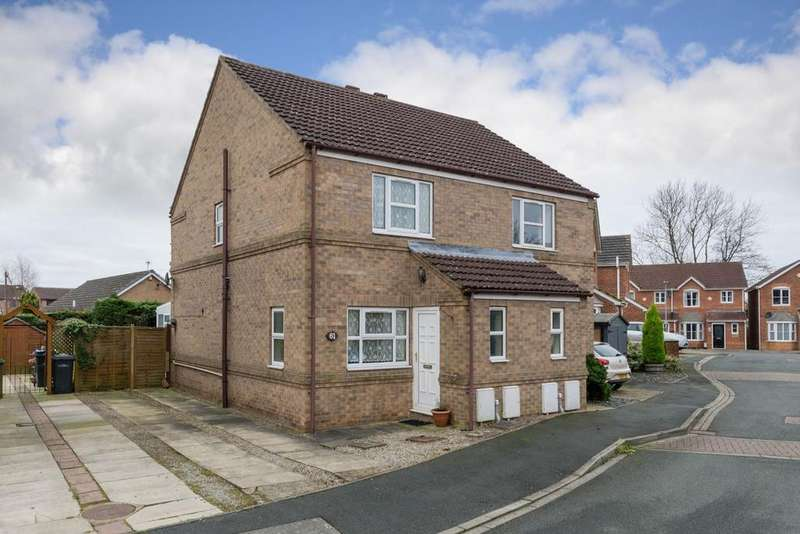 2 Bedrooms Semi Detached House for sale in Rosemary Court, Easingwold, York