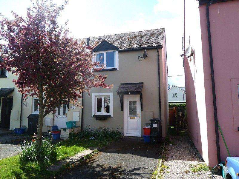 2 Bedrooms End Of Terrace House for rent in Fosse Way, Bronllys, Brecon, Powys.