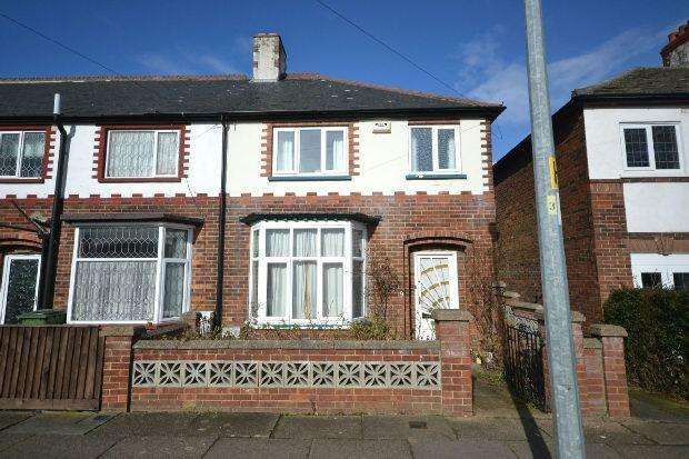 3 Bedrooms End Of Terrace House for sale in Warwick Avenue, Grimsby