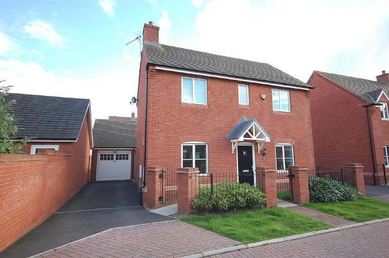 3 Bedrooms Detached House for rent in Alamein Way, Lichfield, WS14 0GG