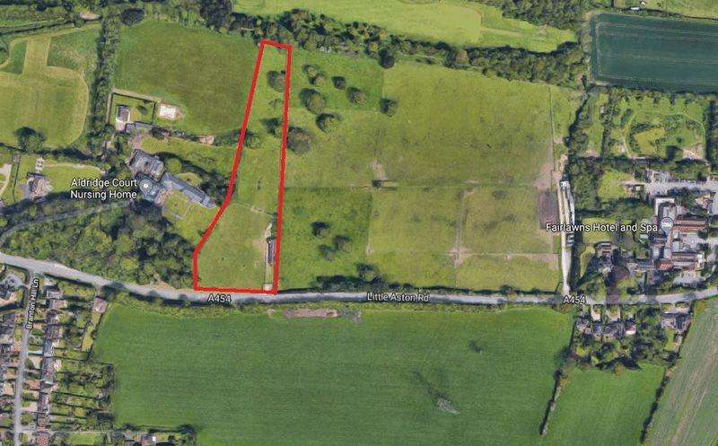 Land Commercial for sale in Little Aston Road, Walsall