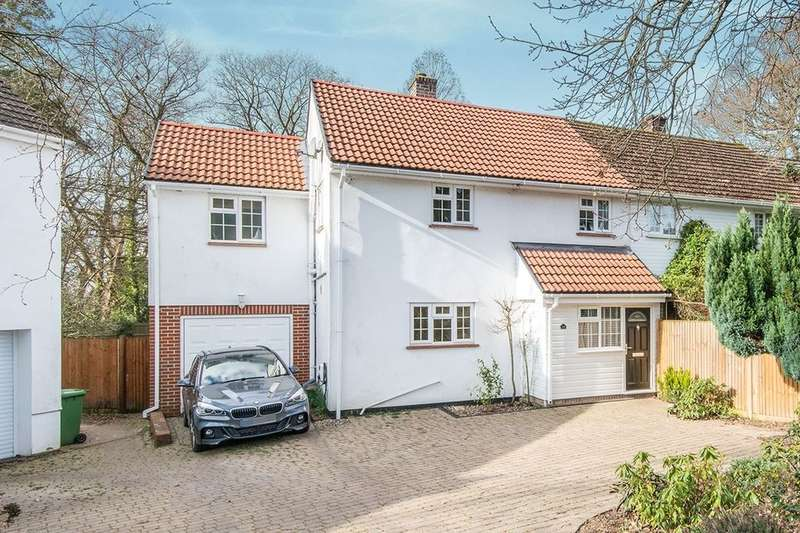 4 Bedrooms Semi Detached House for sale in Bassett Row, Southampton, SO16