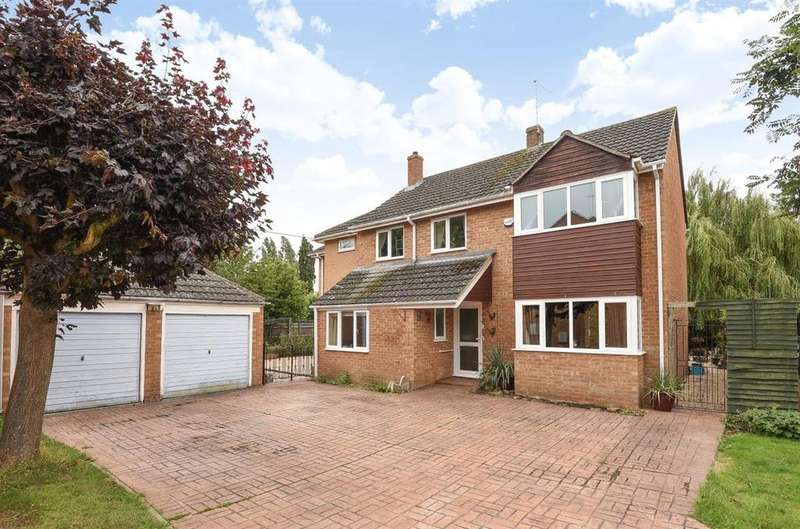 4 Bedrooms Detached House for sale in Willow Tree Close, Shippon, Shippon