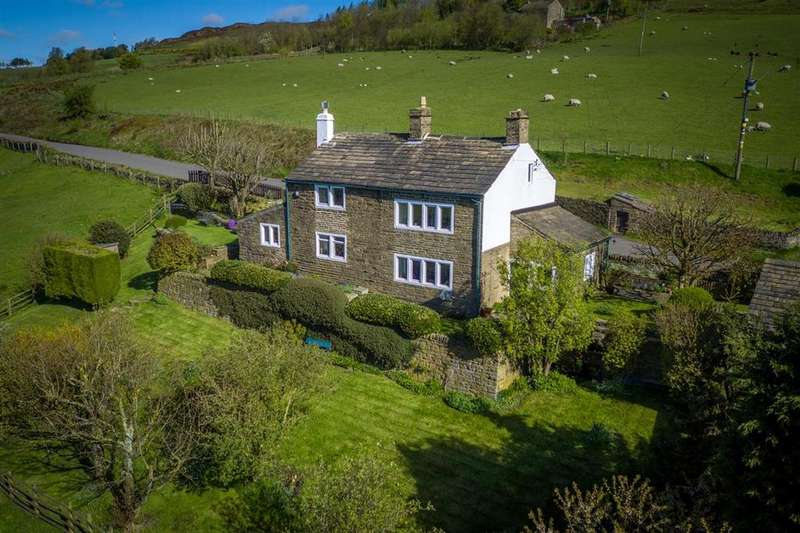 4 Bedrooms Detached House for sale in Heights Road, Hebden Bridge HX7