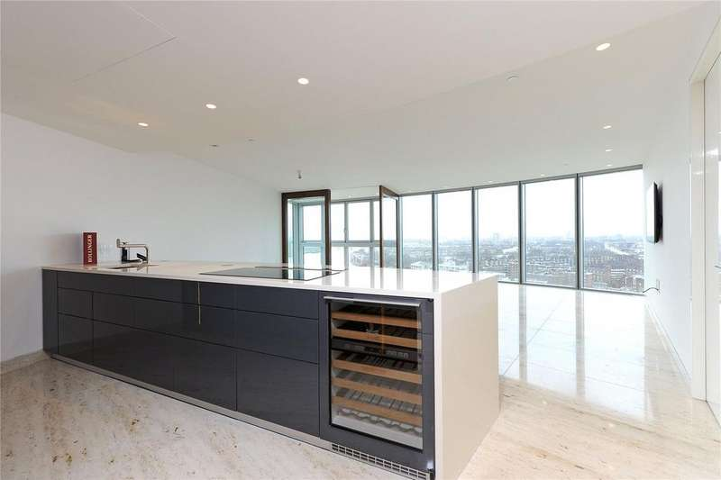 3 Bedrooms Flat for rent in The Tower, St George Wharf, London, SW8