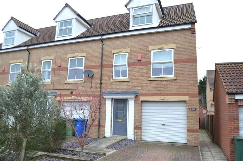 3 Bedrooms End Of Terrace House for sale in Kestrel Avenue, Gainsborough, Lincolnshire, DN21