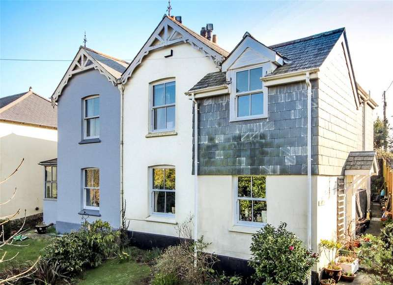 3 Bedrooms Semi Detached House for sale in Trevanna Road, Kingsbridge, Devon, TQ7