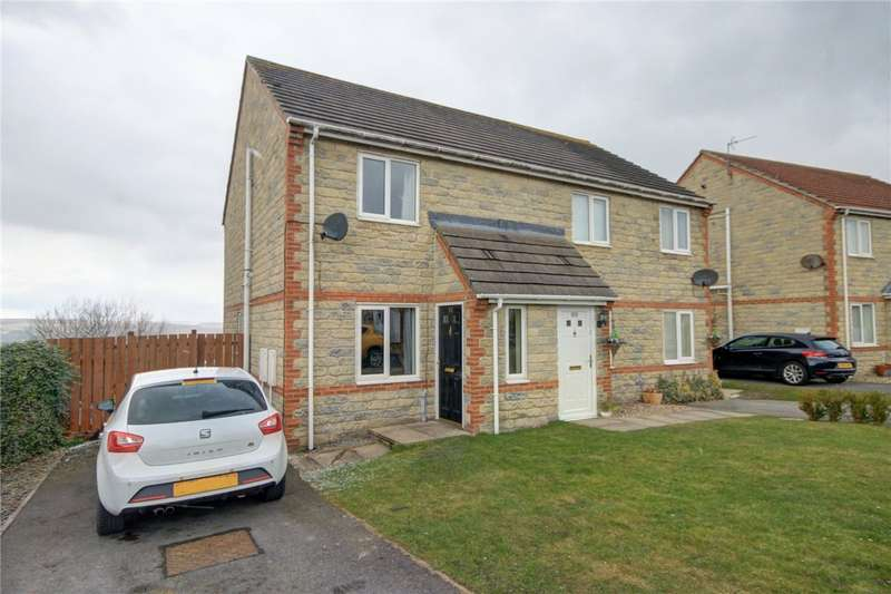 2 Bedrooms Semi Detached House for sale in Stuart Court, Consett, County Durham, DH8