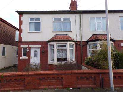 3 Bedrooms Semi Detached House for sale in Worsley Avenue, Blackpool, Lancashire, FY4