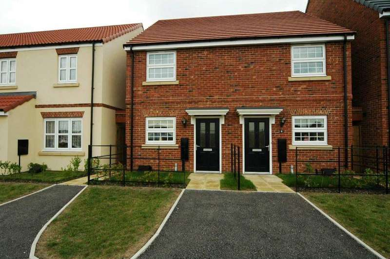 2 Bedrooms Semi Detached House for rent in 8 Northgate, Shinewater