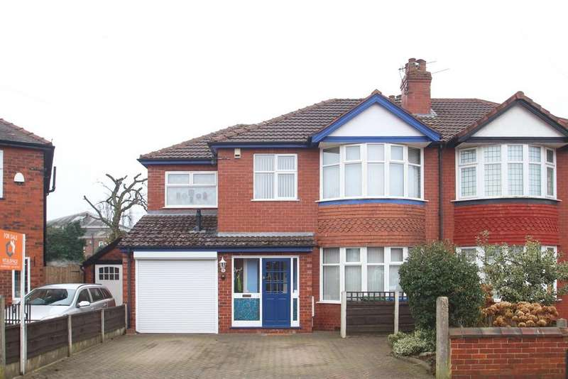 4 Bedrooms Semi Detached House for sale in Tresco Avenue, Stretford, Manchester, M32