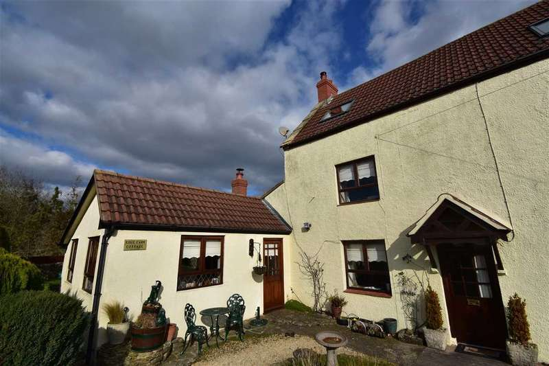 2 Bedrooms Semi Detached House for sale in Edge Farm Cottage, Keynsham Lane, High Woolaston, Lydney