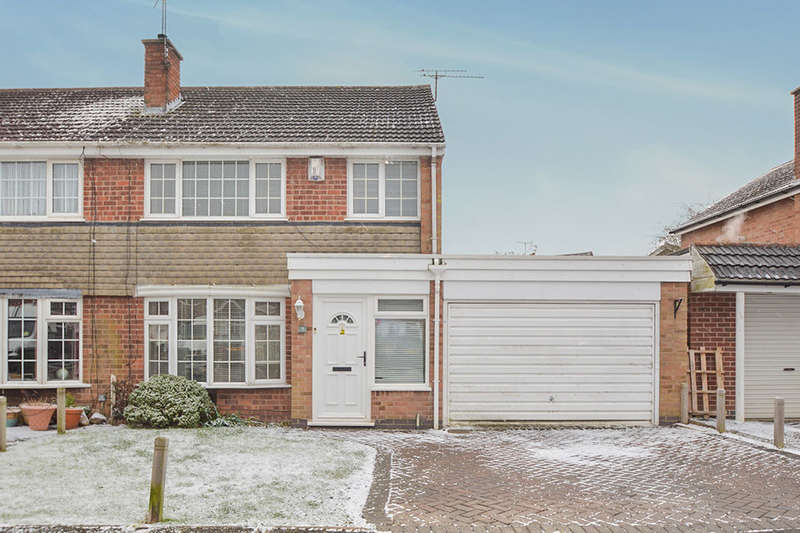 3 Bedrooms Semi Detached House for sale in Boyers Walk, Leicester Forest East, Leicester, LE3