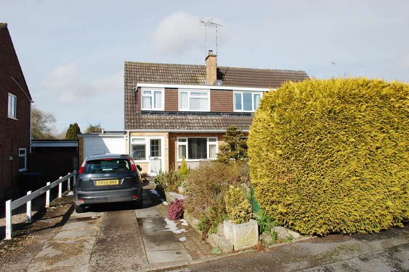 3 Bedrooms Semi Detached House for sale in Hadrians Walk, Alcester, B49