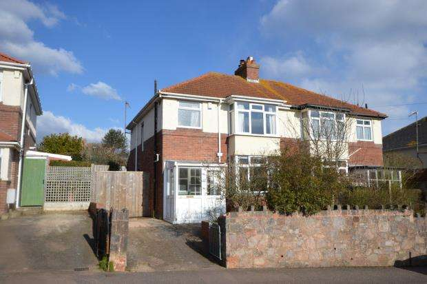 3 Bedrooms Semi Detached House for sale in Beacon Lane, Beacon Heath, Exeter, Devon