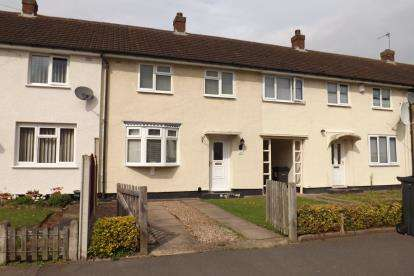 2 Bedrooms Terraced House for sale in Briddsland Road, Tile Cross, Birmingham, West Midlands