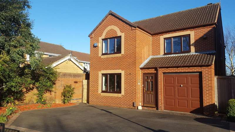 4 Bedrooms Detached House for sale in Quillings Way, Borrowash