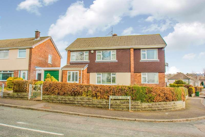 4 Bedrooms Detached House for sale in Porset Close, Caerphilly