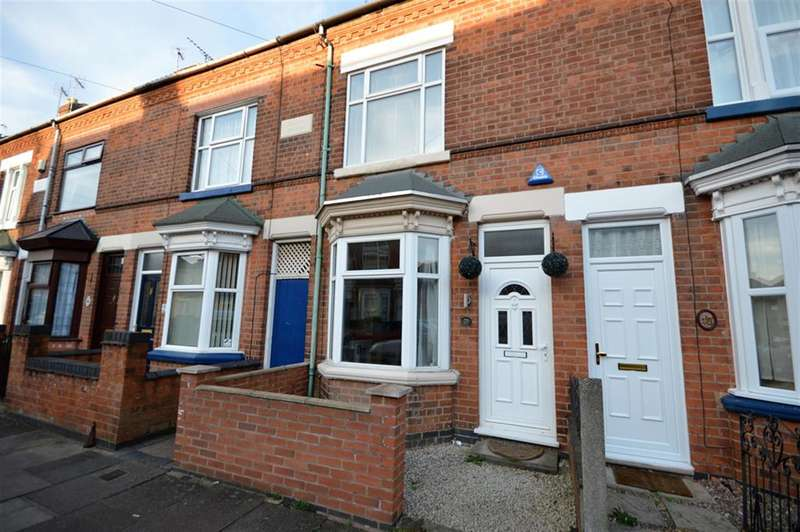 2 Bedrooms Terraced House for rent in Fairfield Street, Wigston, LE18 4SL