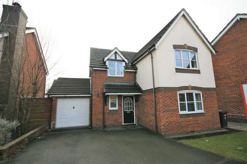 4 Bedrooms Detached House for rent in James Atkinson Way, Leighton, Crewe CW1