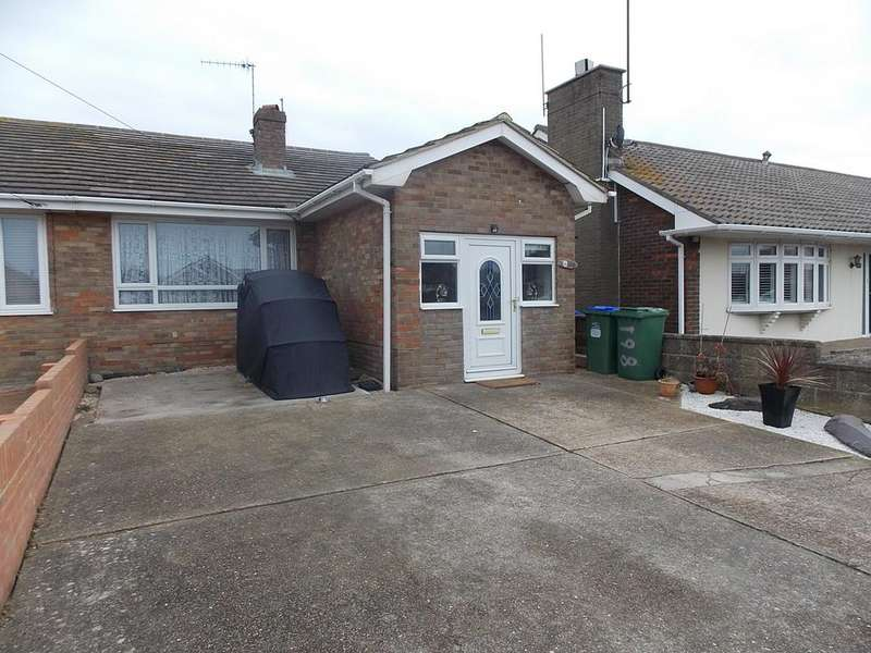 2 Bedrooms Semi Detached Bungalow for sale in Arundel Road, Peacehaven, East Sussex
