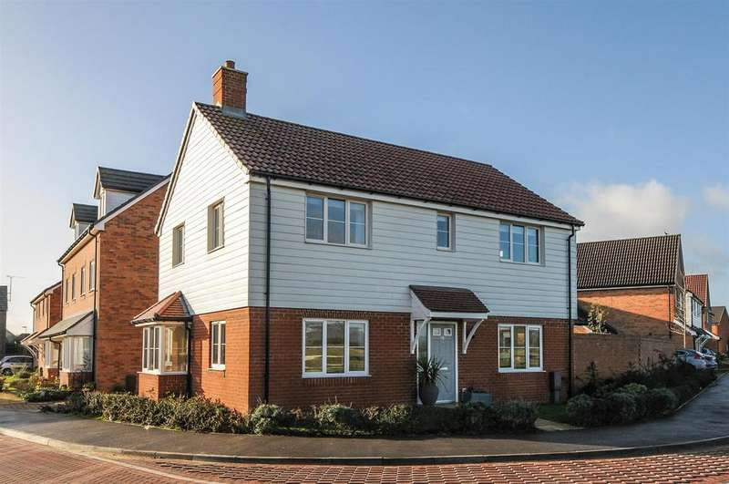 4 Bedrooms Detached House for sale in Navigation Drive, Yapton
