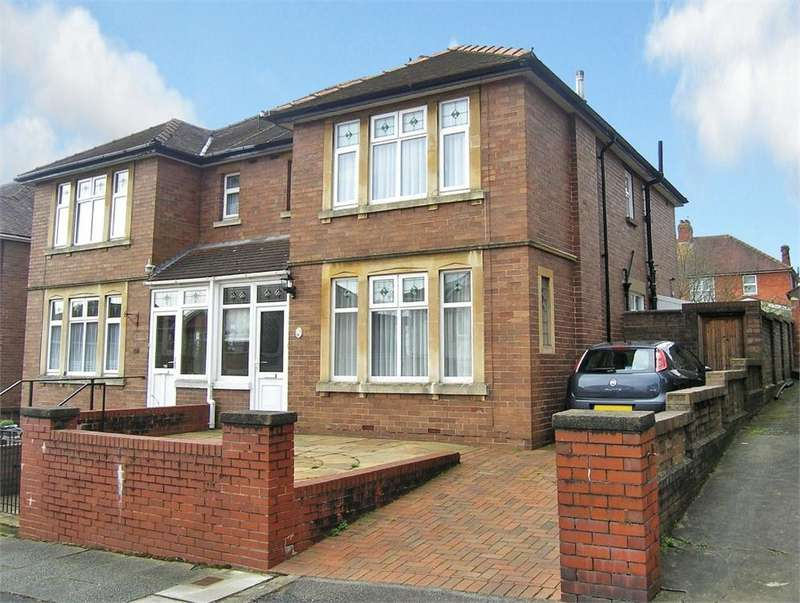 3 Bedrooms Semi Detached House for sale in Earl's Court Road, Penylan, Cardiff