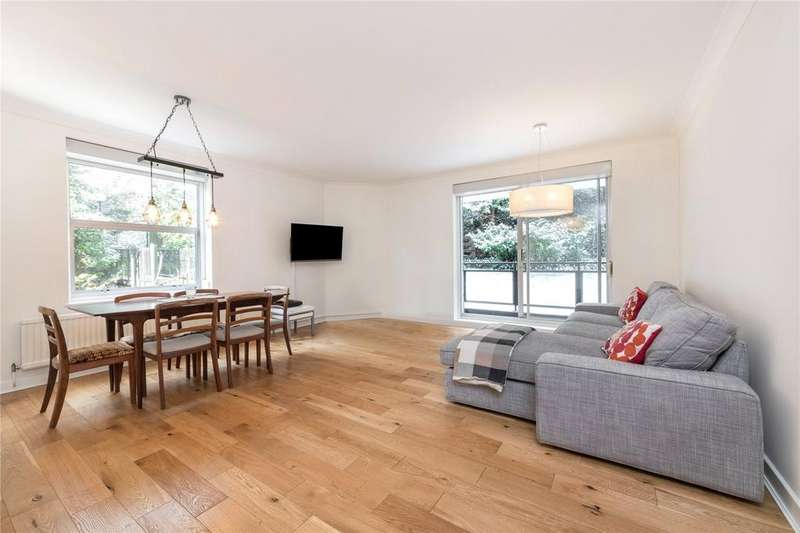 3 Bedrooms Flat for sale in Alban House, Sumpter Close, Hampstead, London