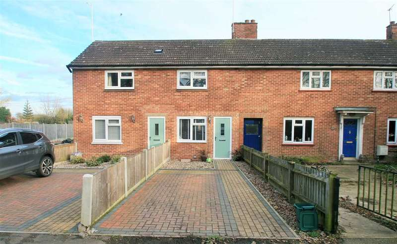 2 Bedrooms Terraced House for sale in Bradbrook Cottages, Armoury Road, West Bergholt, Colchester