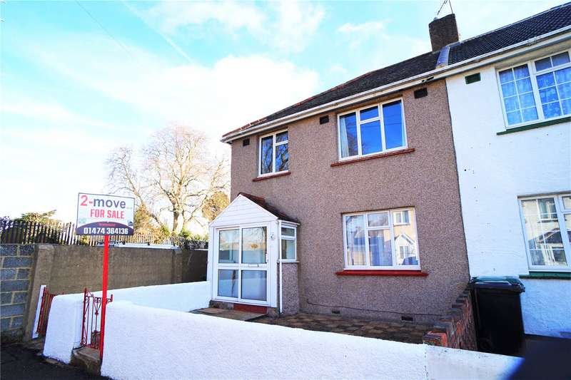 3 Bedrooms Semi Detached House for sale in Austin Road, Northfleet, Gravesend, Kent, DA11