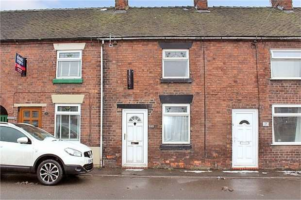 2 Bedrooms Terraced House for sale in Cheadle Road, Tean, Stoke-on-Trent, Staffordshire
