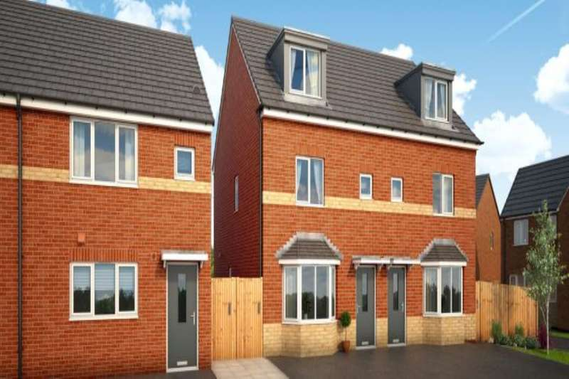 3 Bedrooms Semi Detached House for sale in Borrowdale Road, Middleton, Manchester, M24
