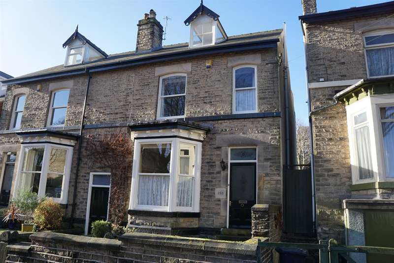 5 Bedrooms Semi Detached House for sale in Western Road, Crookes, Sheffield, S10 1LE