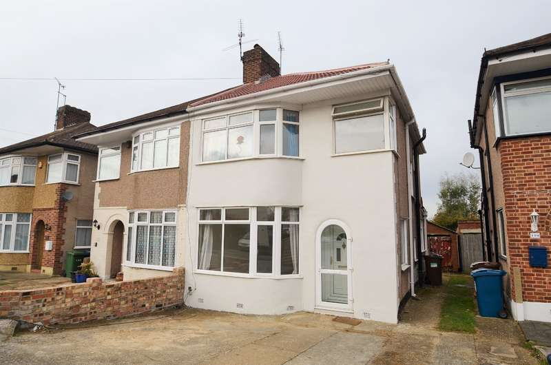 3 Bedrooms Semi Detached House for sale in The Heights, Northolt, Middlesex, UB5 4BU