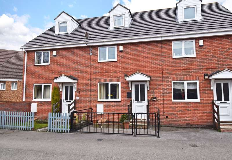3 Bedrooms Town House for sale in Bethan Court, Havercroft, Wakefield
