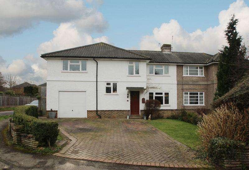 4 Bedrooms Semi Detached House for sale in Hilden Avenue, Hildenborough