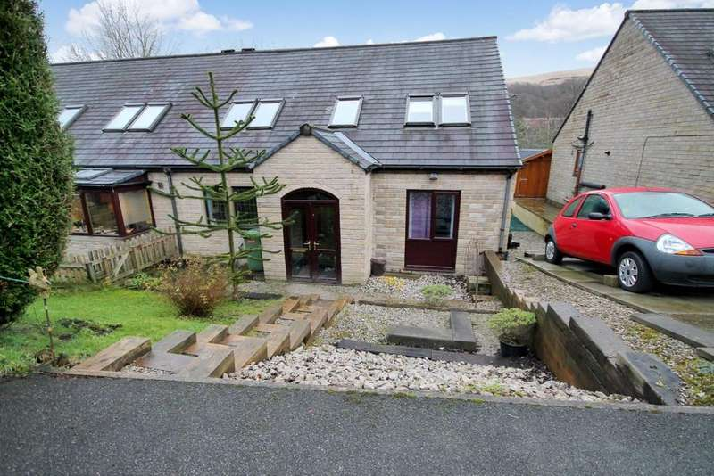 4 Bedrooms Semi Detached House for sale in Winterbutlee Grove, Todmorden